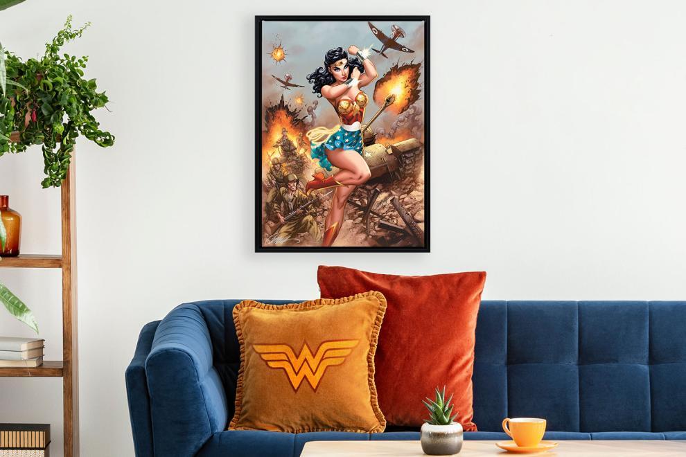 Wonder Woman #750: WWII Fine Art Print by J. Scott Campbell