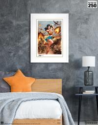 Gallery Image of Wonder Woman #750: WWII Art Print