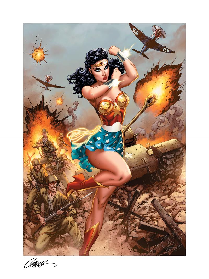 Wonder Woman #750: WWII Art Print -