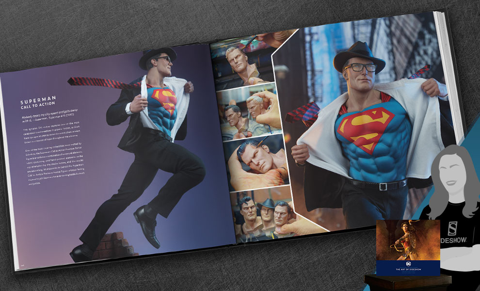 Gallery Feature Image of DC: Collecting the Multiverse: The Art of Sideshow Book - Click to open image gallery