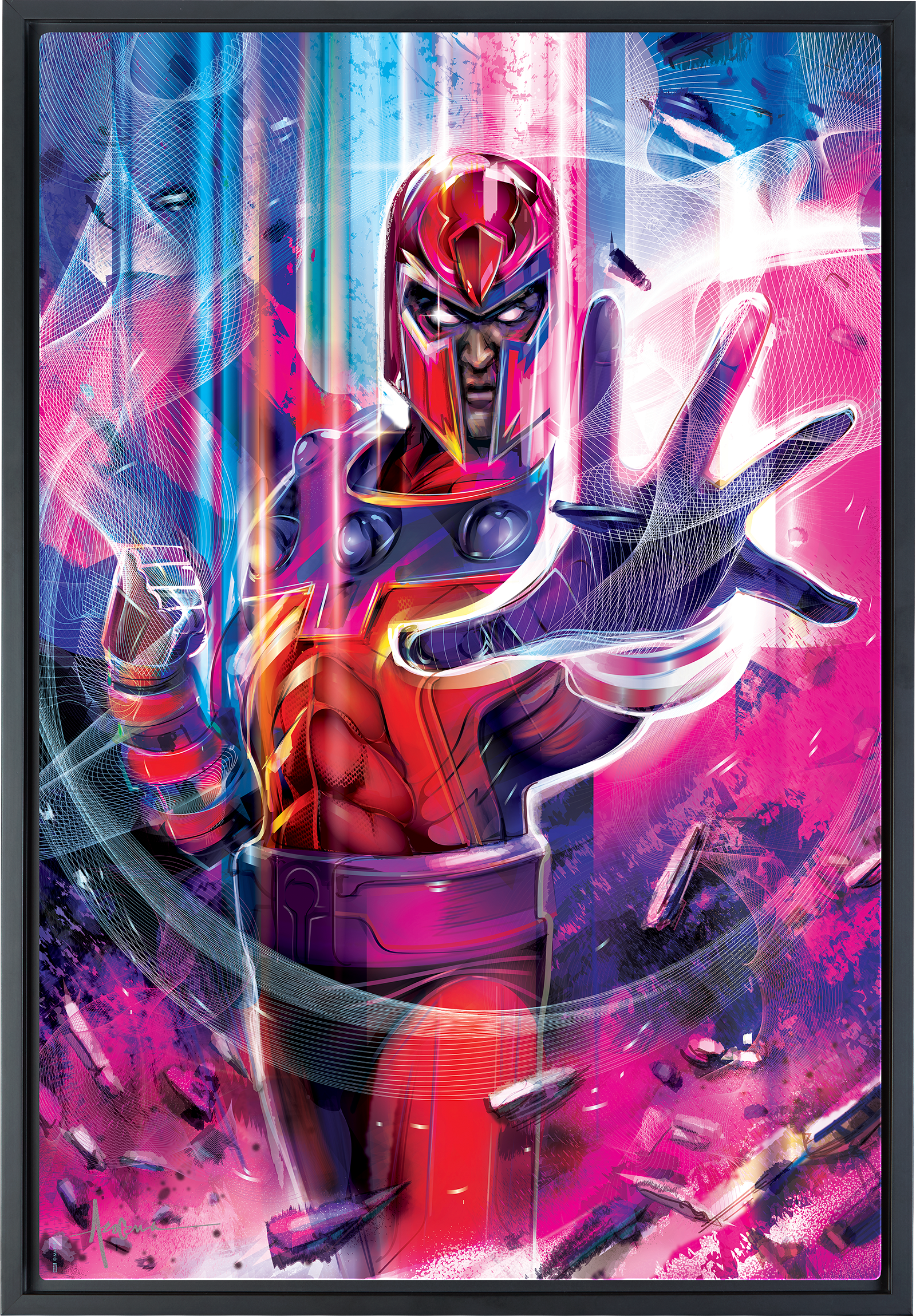 Sideshow Collectibles Magneto Art Print