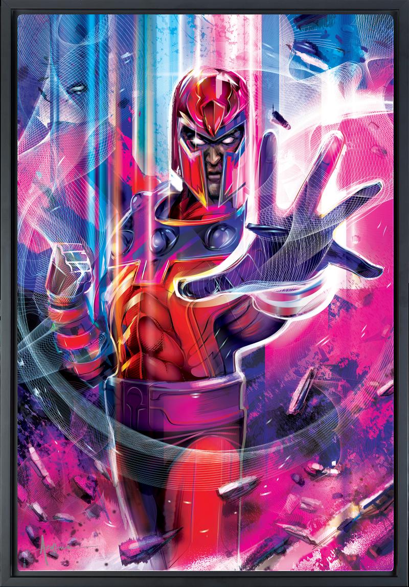 Magneto Art Print -