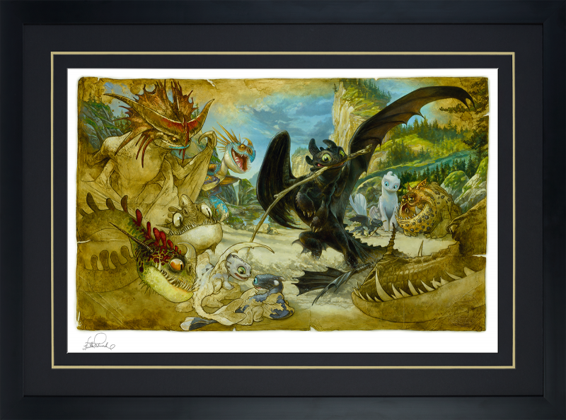 How To Draw Your Dragon Art Print -