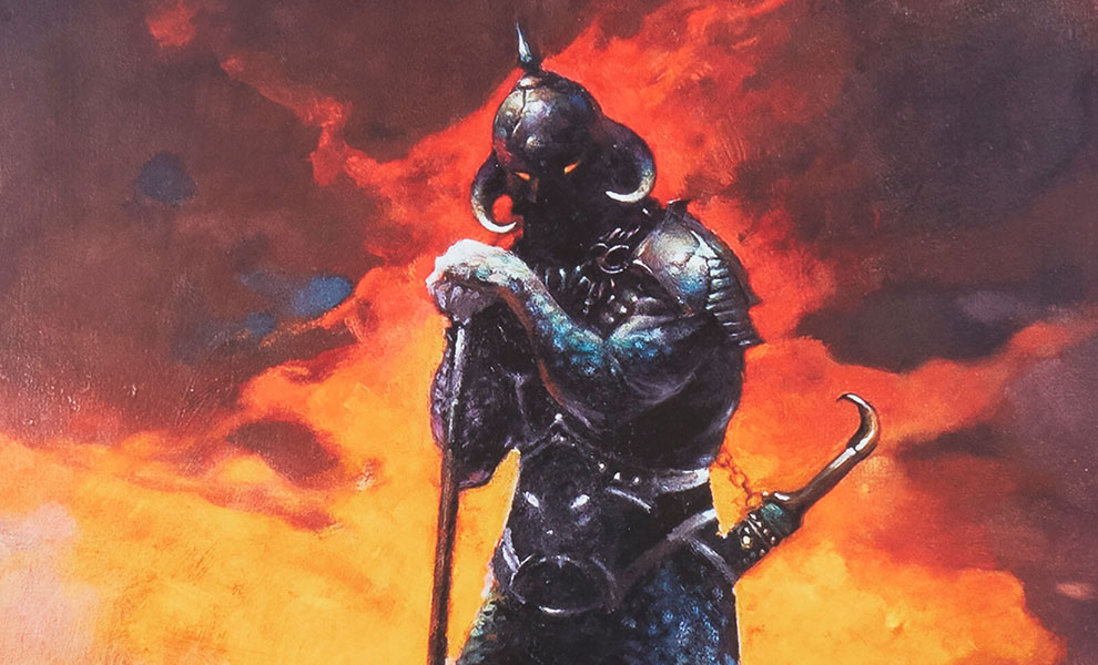 Gallery Feature Image of Death Dealer III Art Print - Click to open image gallery