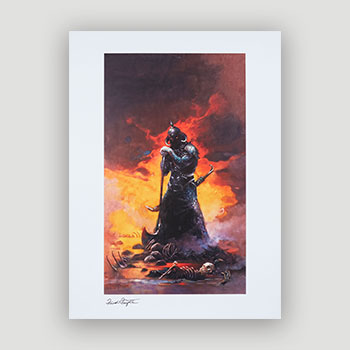 Death Dealer III Art Print