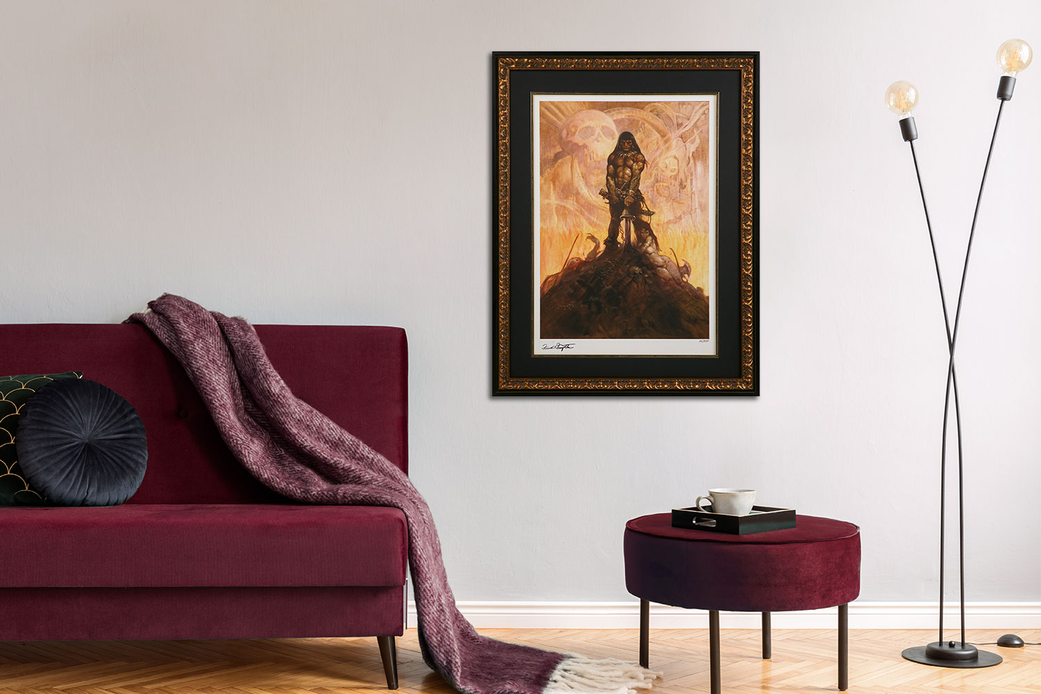 The Barbarian Art Print feature image