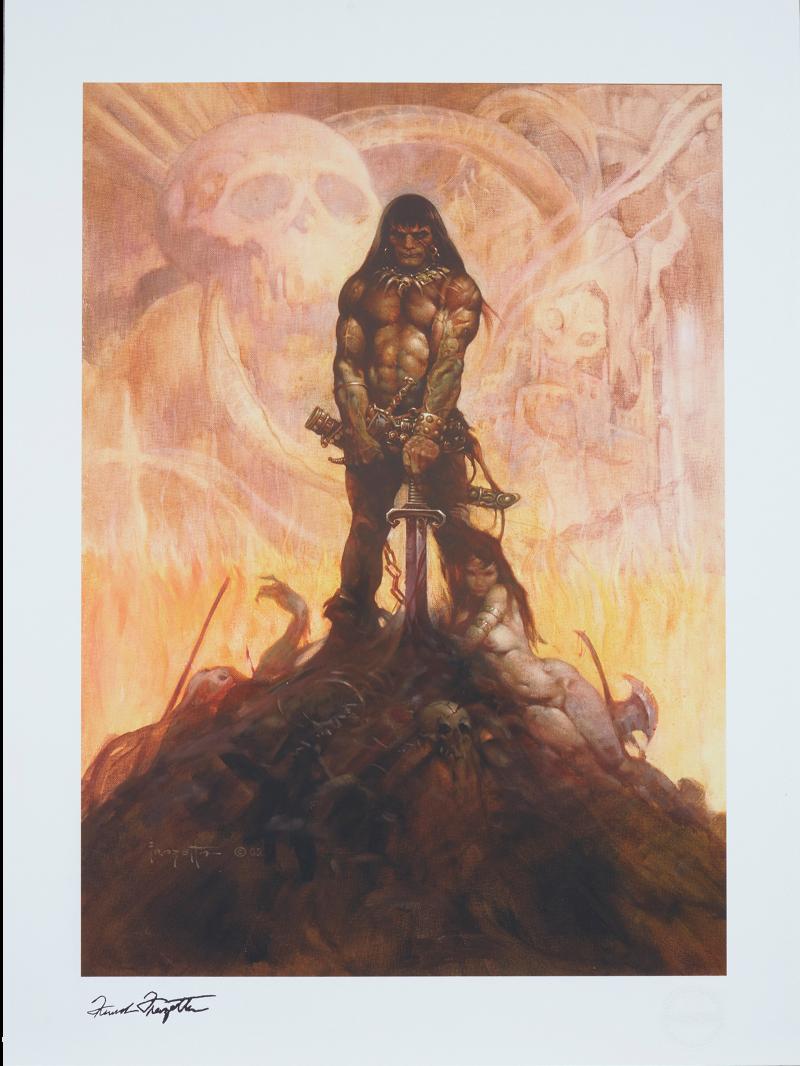 The Barbarian Art Print -
