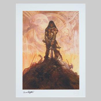 The Barbarian Art Print
