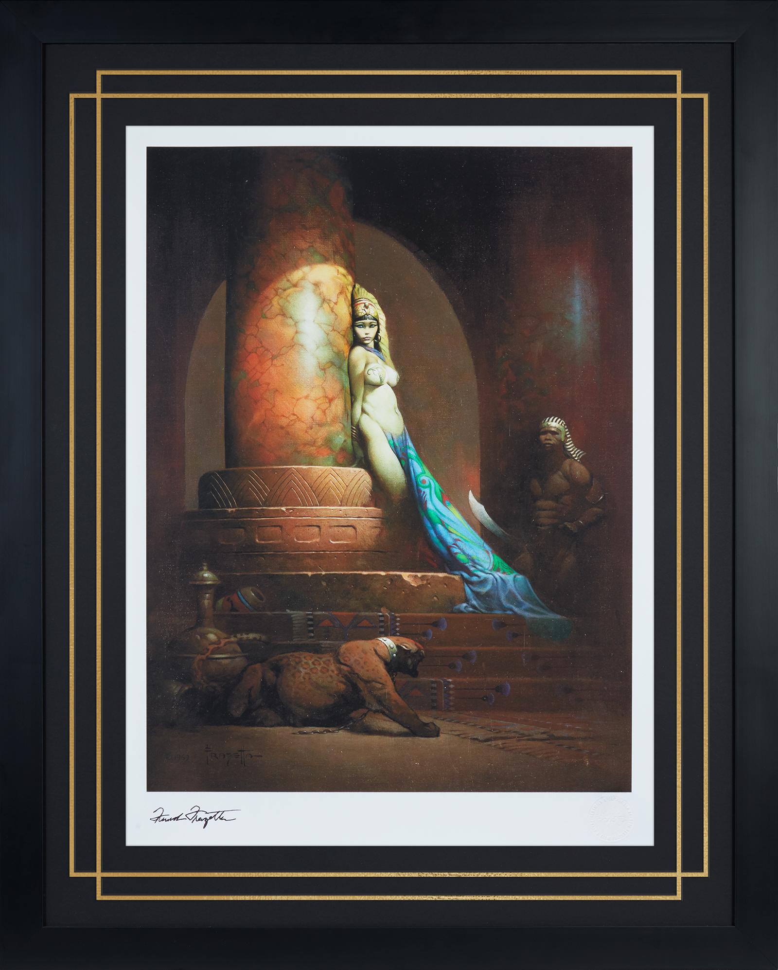 Frazetta Jr. Enterprises Egyptian Queen Art Print
