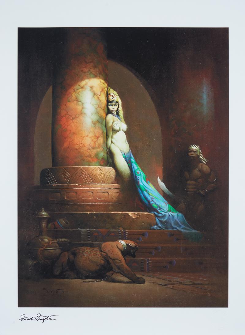 Egyptian Queen Art Print -
