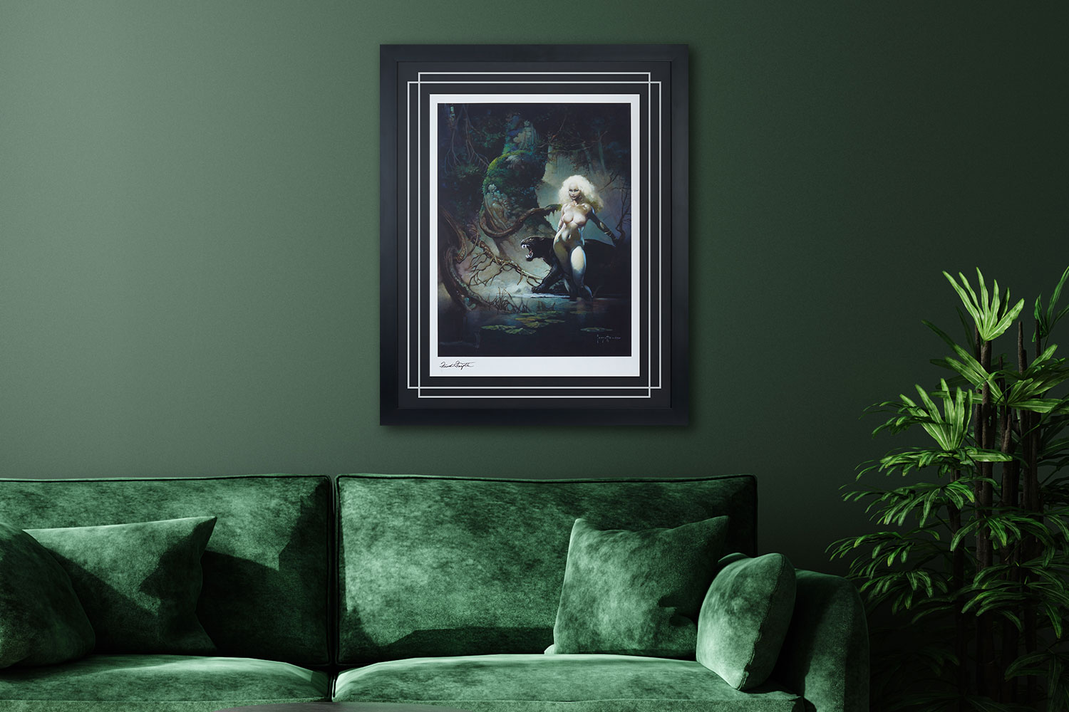 The Princess and the Panther Art Print feature image