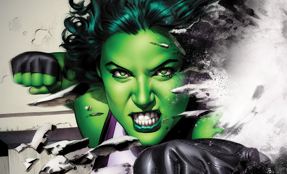 Gallery Feature Image of She-Hulk Art Print - Click to open image gallery