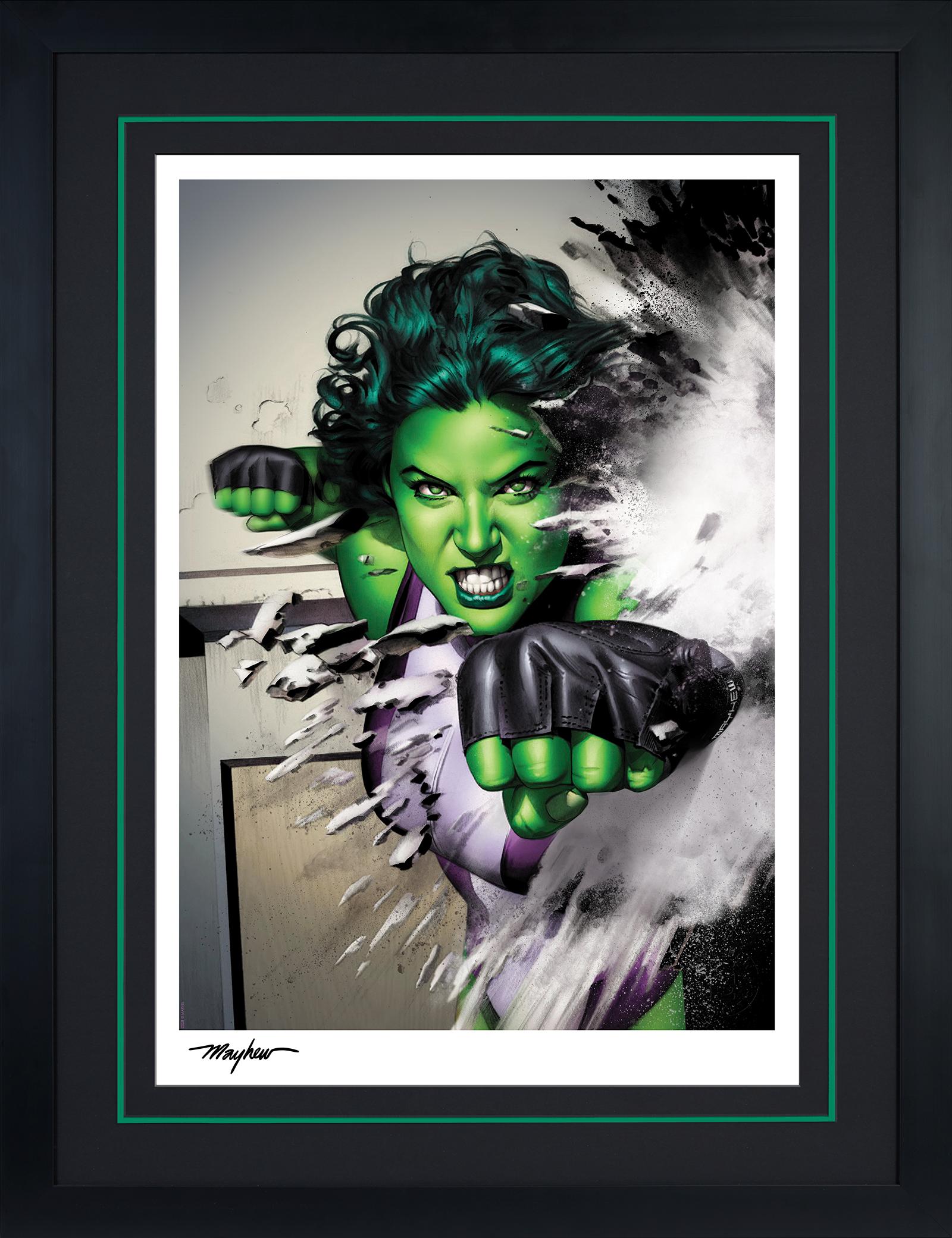 Sideshow Collectibles She-Hulk Art Print
