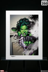 Gallery Image of She-Hulk Art Print