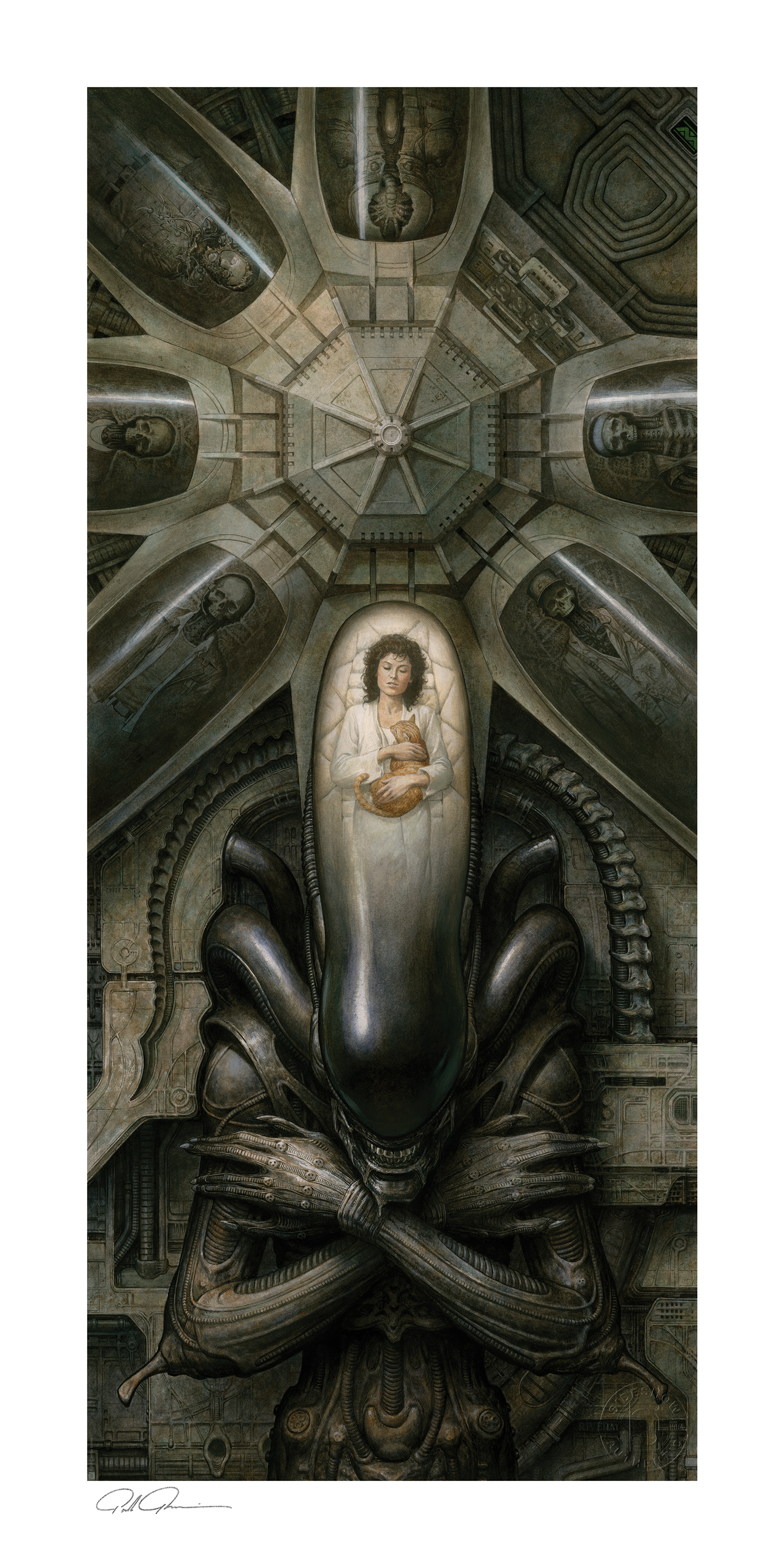 Sideshow Collectibles Alien: Priority One Art Print
