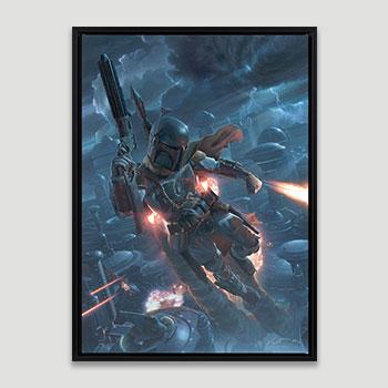 The Mercenary Art Print