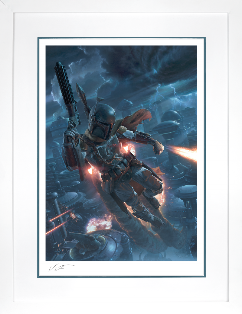The Mercenary Art Print -
