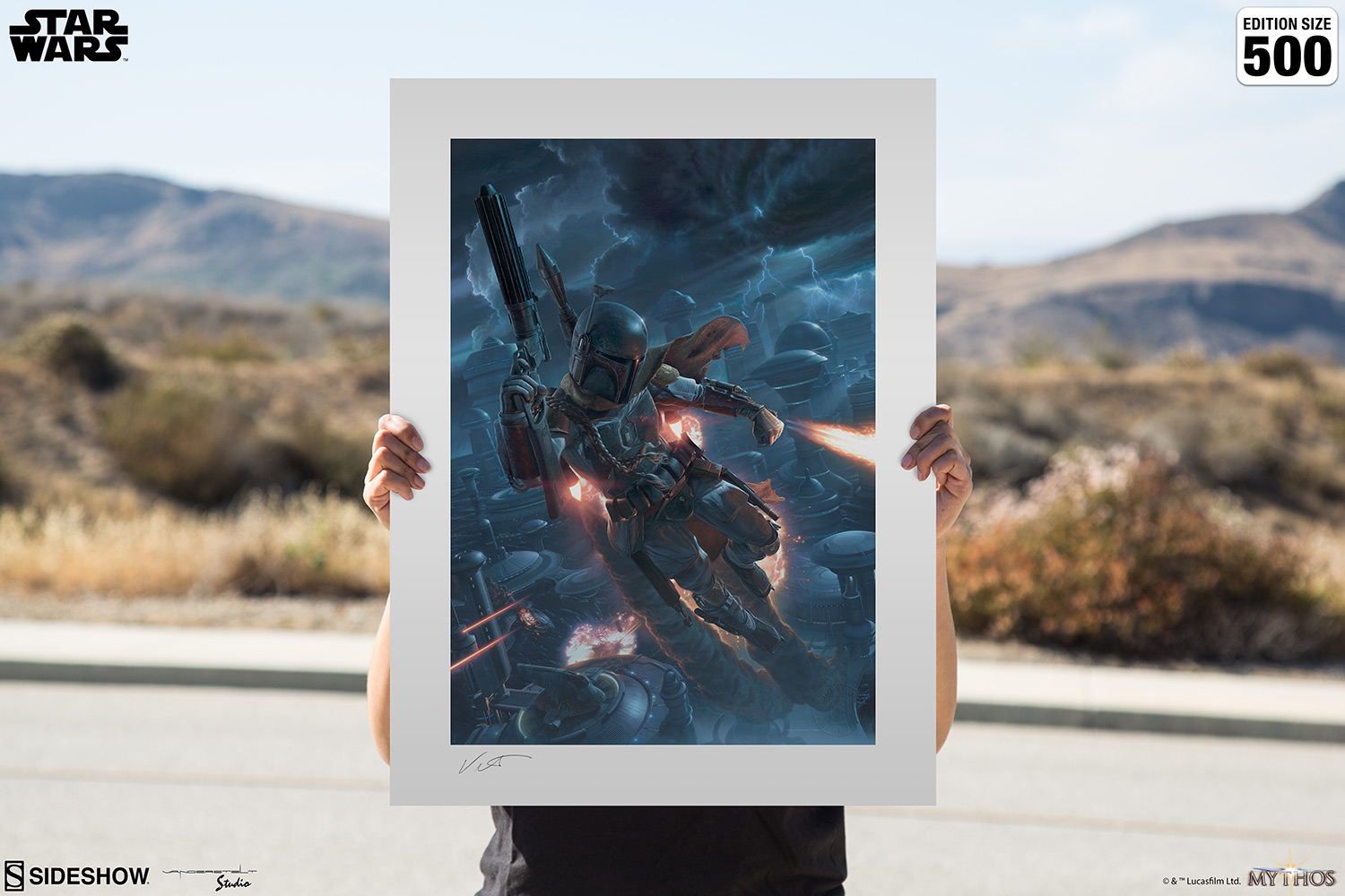 The Mercenary Art Print feature image