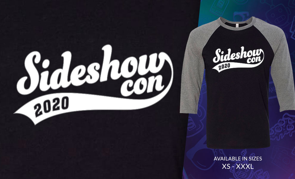 Gallery Feature Image of Sideshow Con Baseball T-Shirt Apparel - Click to open image gallery