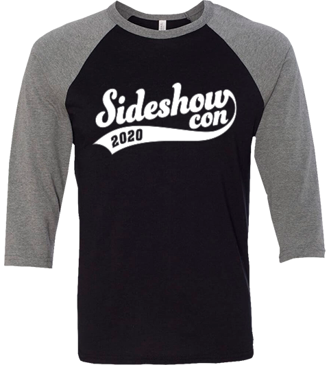 Sideshow Collectibles Sideshow Con Baseball T-Shirt Apparel