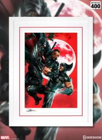 Gallery Image of Wolverine vs Blade Art Print