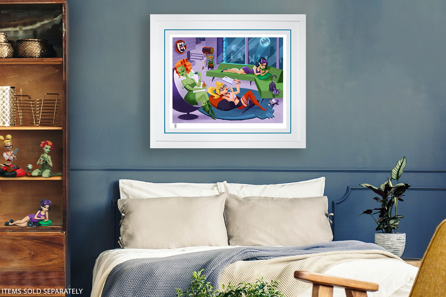 Sleepover Sirens Art Print feature image