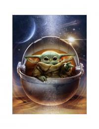 Gallery Image of Galactic Child Art Print