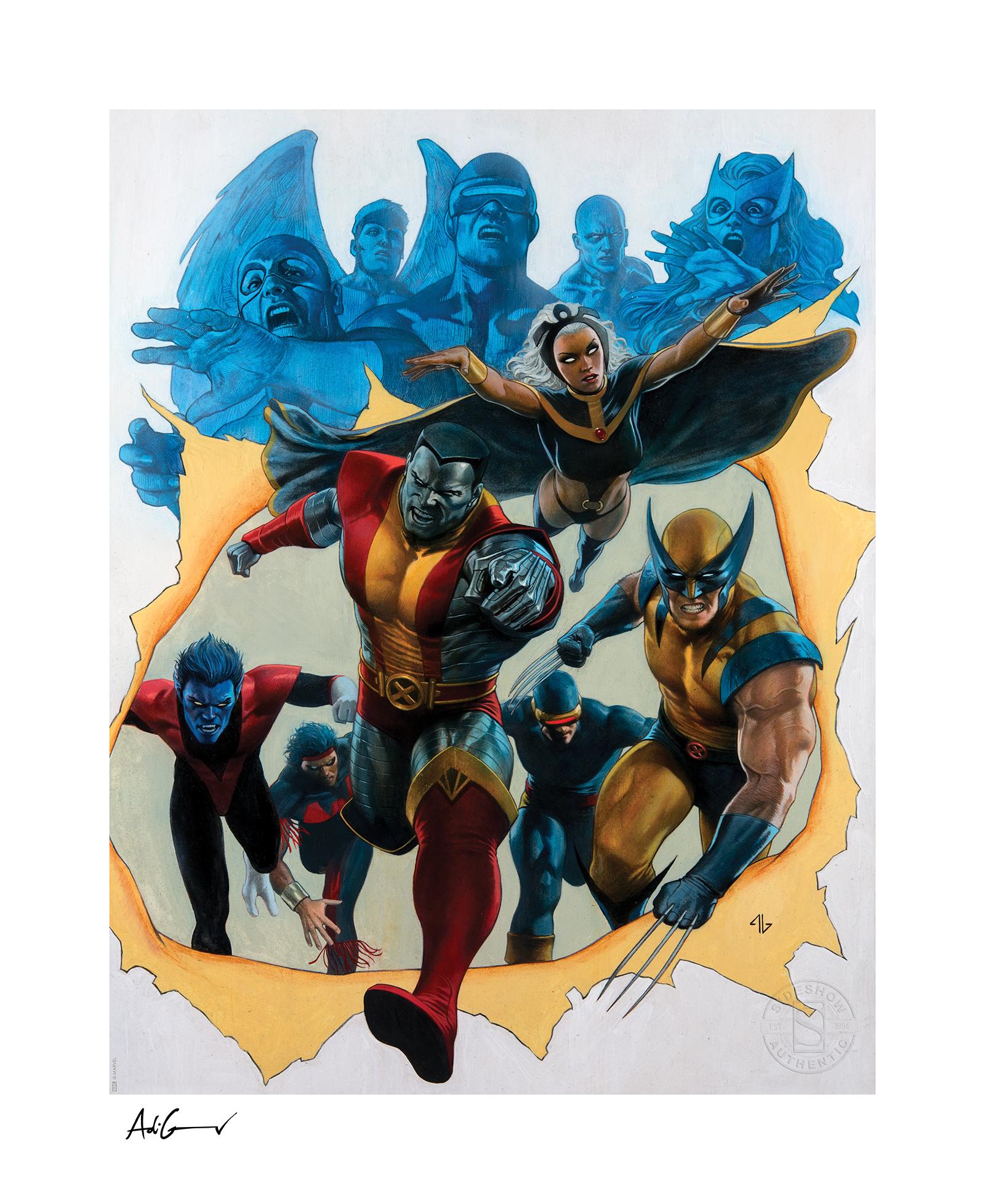Sideshow Collectibles Giant-Size X-Men Art Print