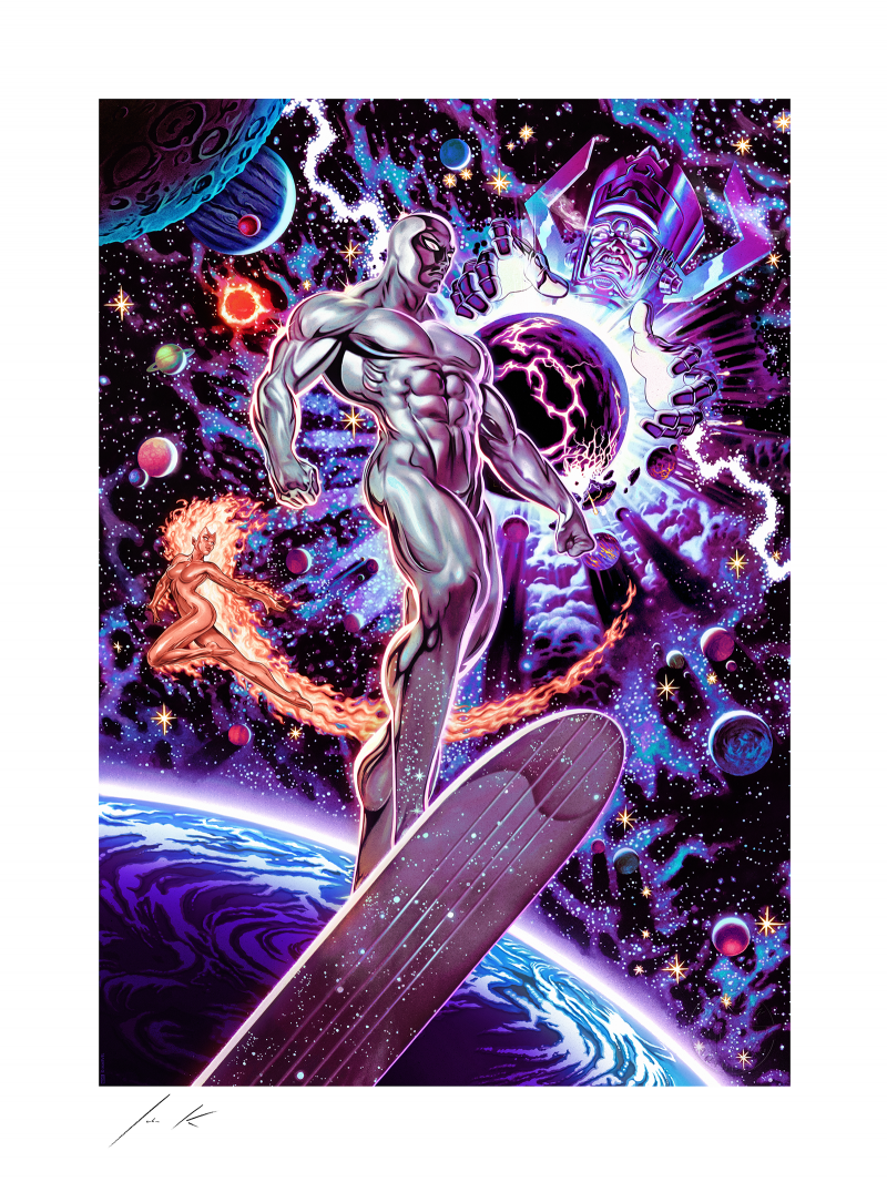 Heralds of Galactus Art Print -