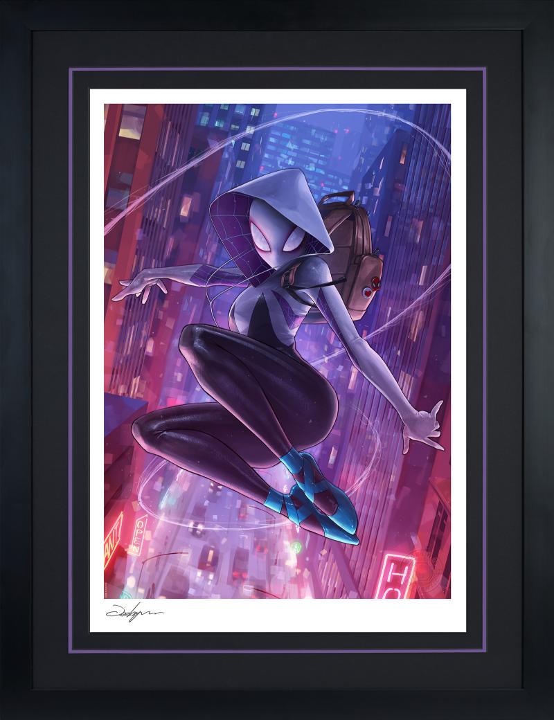 Spider-Gwen Art Print -