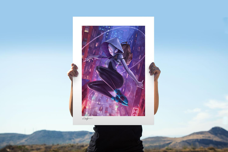 Spider-Gwen Art Print feature image