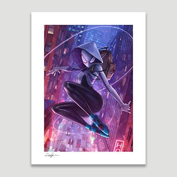 Spider-Gwen Art Print