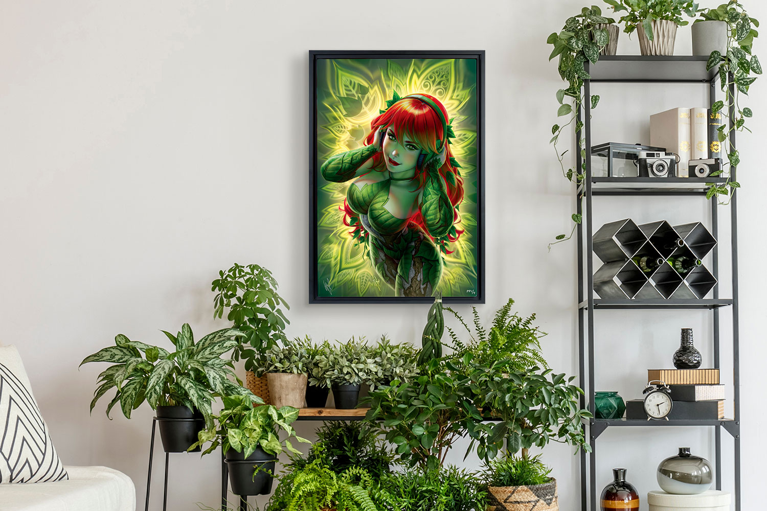 Poison Ivy Art Print feature image