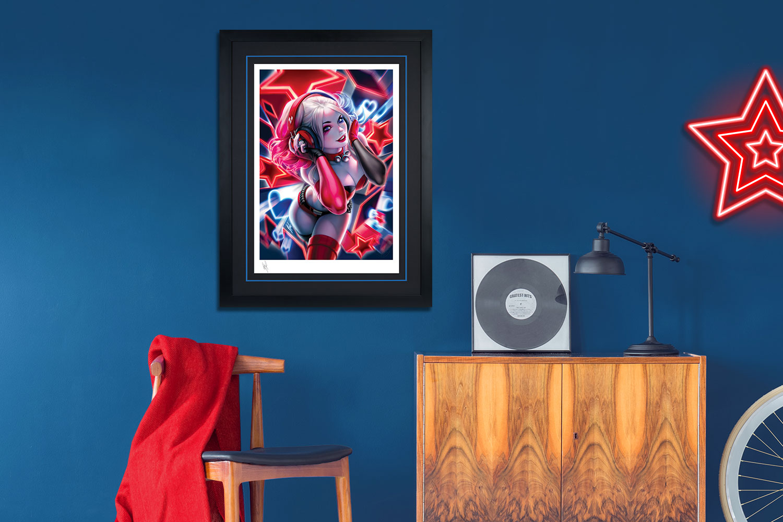 Harley Quinn Art Print feature image