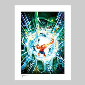 Fantastic Four: Hand of Doom Art Print