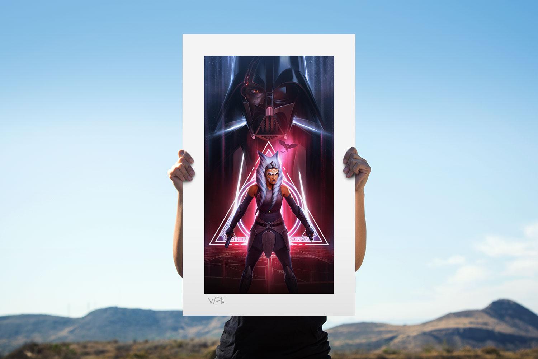 Ahsoka Tano: Between Worlds Art Print feature image