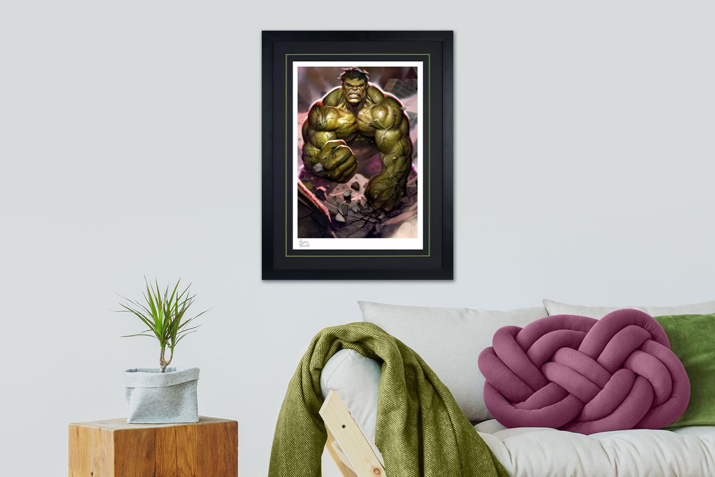 The Incredible Hulk Art Print feature image