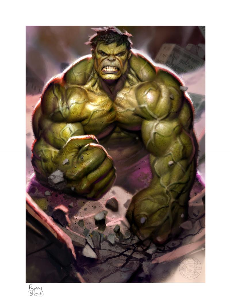The Incredible Hulk Art Print -