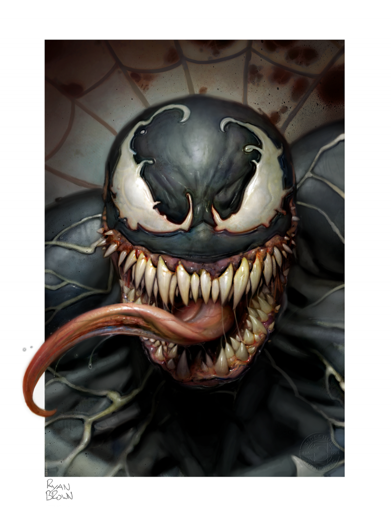 Venom Art Print -
