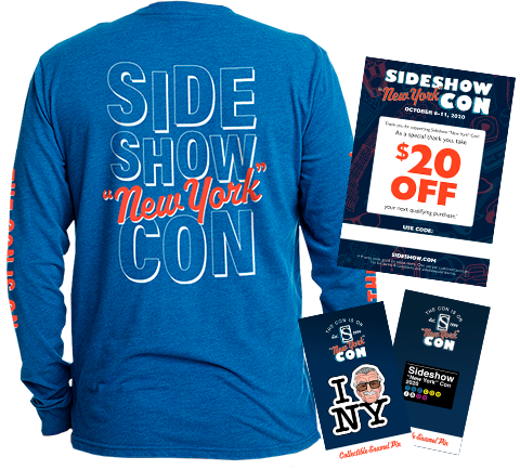 Sideshow Collectibles 2020 Sideshow 'New York' Con Swag Apparel