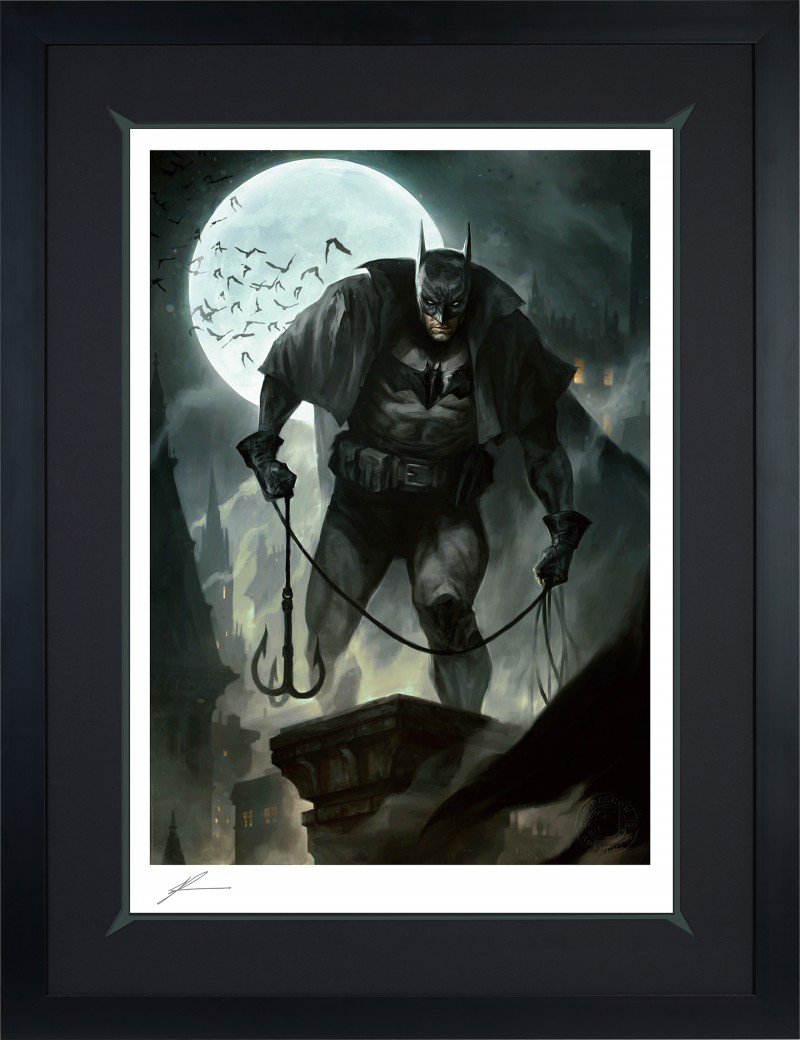Gotham by Gaslight Art Print -