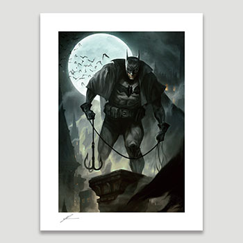 Gotham by Gaslight Art Print