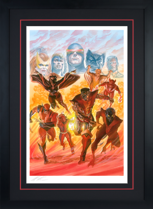 X-Men: Tribute Art Print