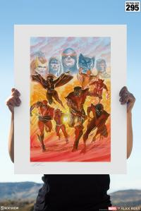 Gallery Image of X-Men: Tribute Art Print