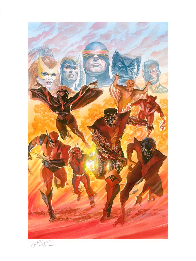 X-Men: Tribute Art Print -