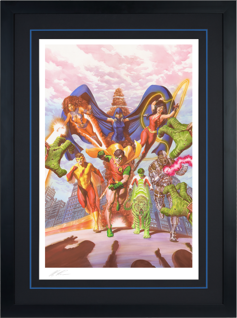 Teen Titans: Tribute Art Print -