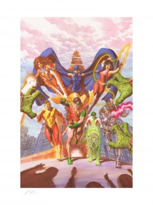 Teen Titans: Tribute Art Print