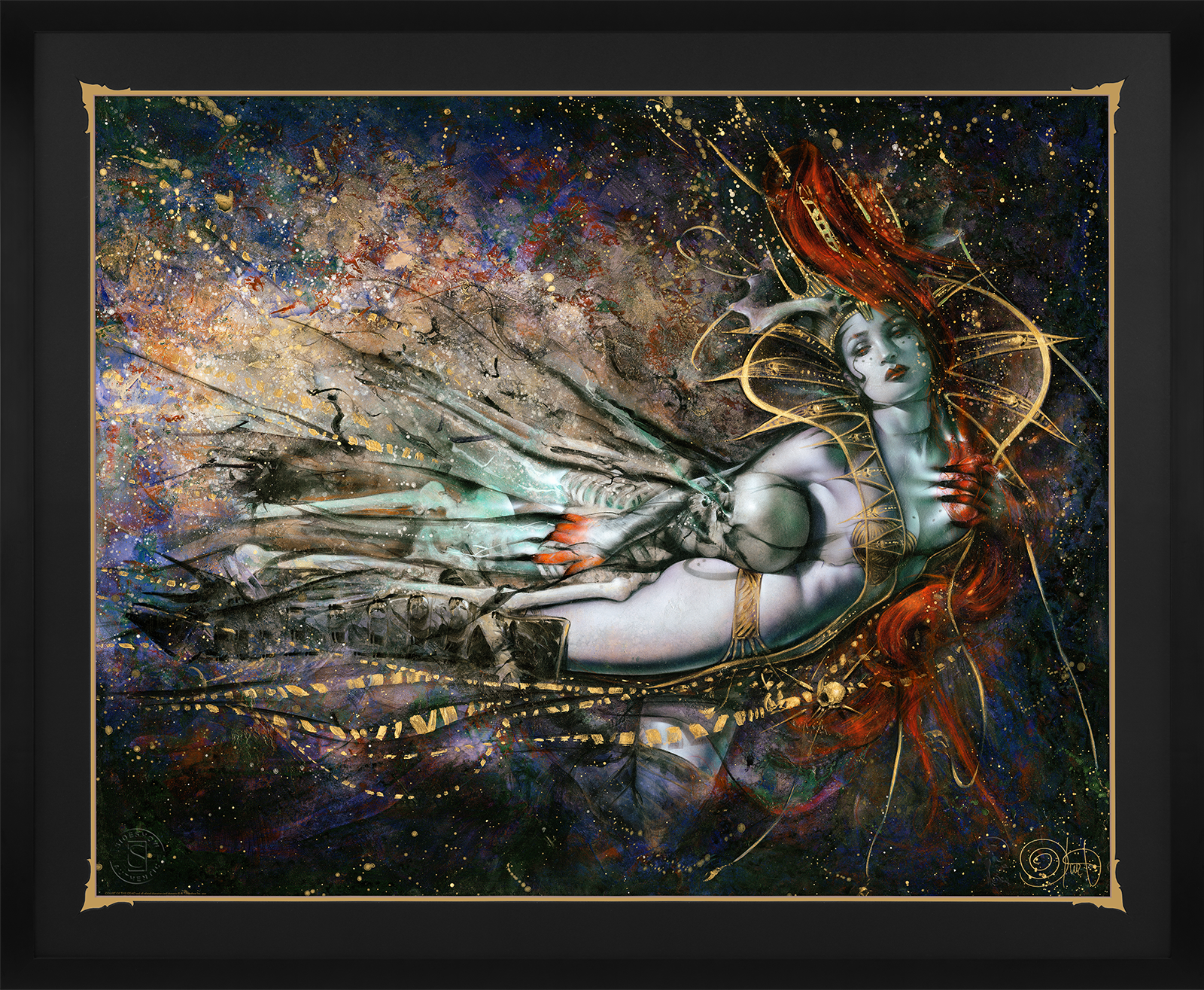 Ozone Productions The Queen's Embrace Variant Art Print