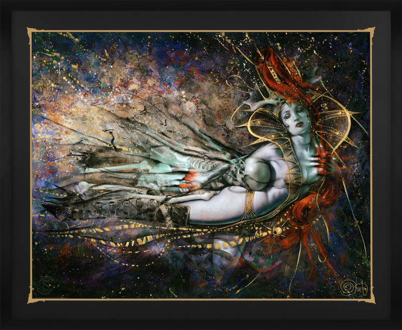 The Queen's Embrace Variant Art Print -