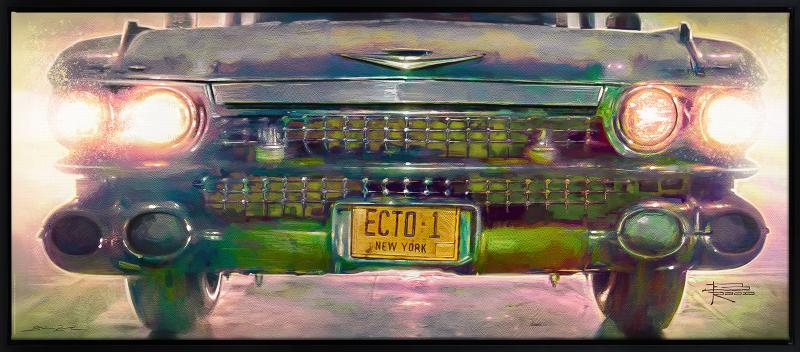 Ecto-1 Art Print -